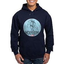 Blue Wolverine Hoodie