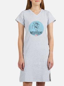 Blue Wolverine Women's Nightshirt