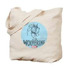 Blue Wolverine Tote Bag