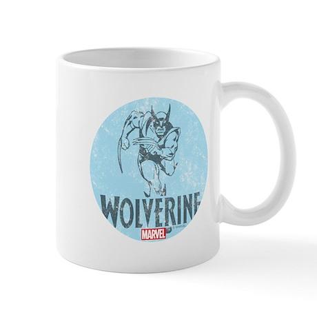 Blue Wolverine Mug