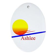 Ashlee Oval Ornament