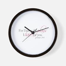 Cute Pastor Wall Clock