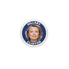 Hillary Clinton Mini Button (10 pack)