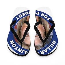 Hillary Clinton for President Flip Flops