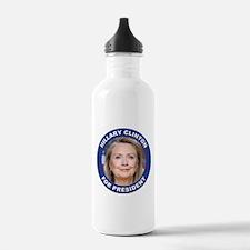 Hillary Clinton for Pr Water Bottle