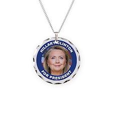 Hillary Clinton for Presiden Necklace