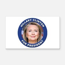 Hillary Clinton for President Rectangle Car Magnet