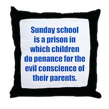 Sunday School Throw Pillow