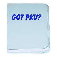 GOT PKU? baby blanket