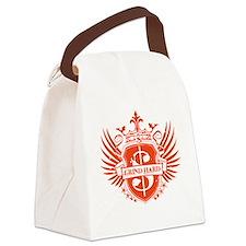 Grind Hard1 Canvas Lunch Bag