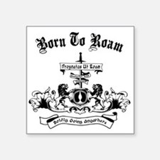B2R Coat of Arms Sticker
