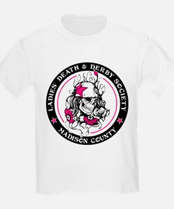 Ladies Death and Derby Society Logo T-Shirt