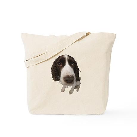 Springer Spaniel Close-Up Tote Bag