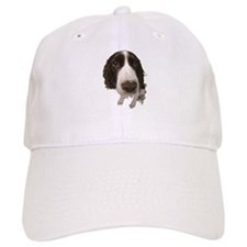 Springer Spaniel Close-Up Baseball Cap