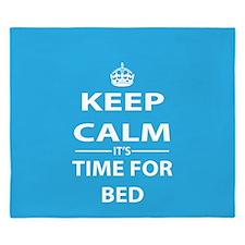 Keep Calm And Sleep King Duvet