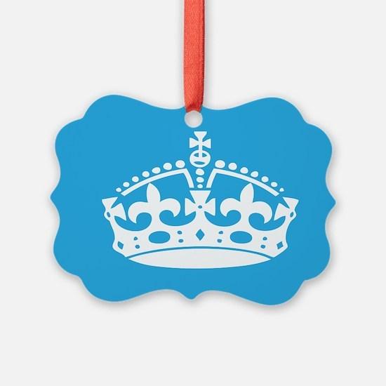 Keep Calm Crown Ornament