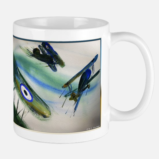 Planes, vintage fighters, Mugs