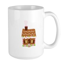 Gingerbread House Mugs