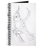 Cockatoo Parrot Cockatiel Bird Journal