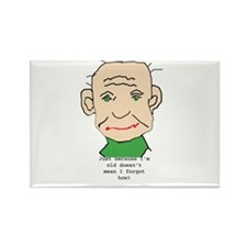 Funny old Man Magnets