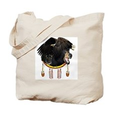 Eagle, Bear & Wolf Tote Bag