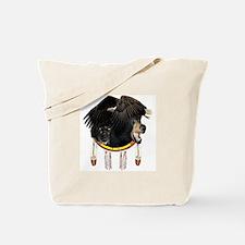 Eagle, Bear & Wolf Tote Bag