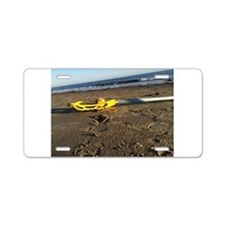 Lacrosse Beach Stick Aluminum License Plate