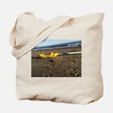 Lacrosse Beach Stick Tote Bag