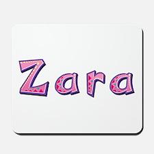 Zara Pink Giraffe Mousepad
