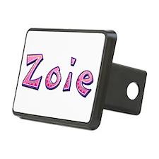 Zoie Pink Giraffe Hitch Cover