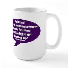Meeting and getting knocked up Surrogacy Mugs