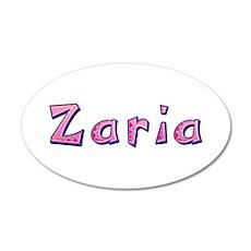 Zaria Pink Giraffe Wall Decal