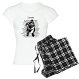 Pit bull T-Shirt / Pajams Pants