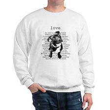 Pit Bull Love Sweatshirt