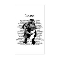 Pit Bull Love Decal