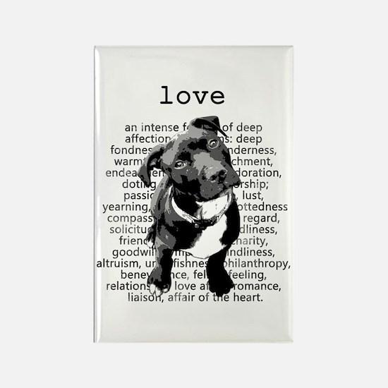 Pit Bull Love Magnets