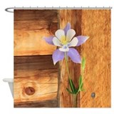 Columbine Shower Curtains