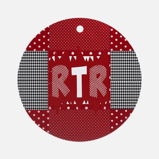 Houndstooth..RTR Ornament (Round)