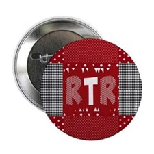 "Houndstooth..RTR 2.25"" Button"