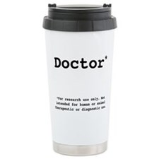 Unique Phd graduation Travel Mug