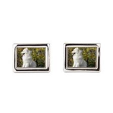 Fall Samoyed Cufflinks