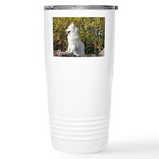 Fall Samoyed Travel Mug