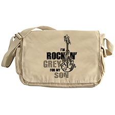 RockinGreylFor Son Messenger Bag
