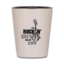 RockinGreylFor Son Shot Glass