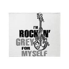 RockinGreylFor Myself Throw Blanket