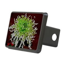Stained Glass Chrysanthemu Hitch Cover