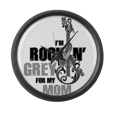 RockinGreylFor Mom Large Wall Clock