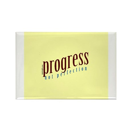 Progress, not perfection Magnets