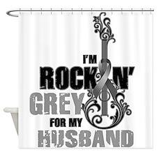 RockinGreylFor Husband Shower Curtain