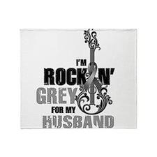 RockinGreylFor Husband Throw Blanket